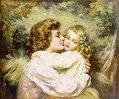 Mother and Daughter By Thomas Benjamin Kennington