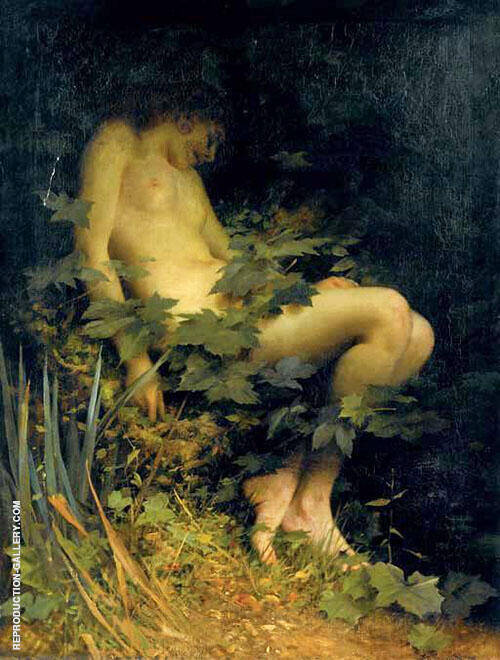 Nest of The Dryad Painting By Thomas Benjamin Kennington