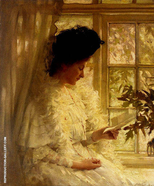 The Letter 1906 By Thomas Benjamin Kennington