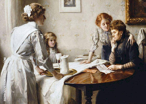 The Letter 1912 By Thomas Benjamin Kennington