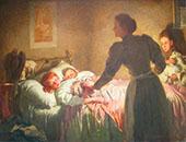 The Mother 1895 By Thomas Benjamin Kennington
