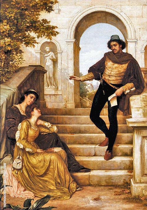 The New Sonnet 1882 By Thomas Benjamin Kennington
