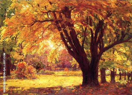 Autumn Sunlight By John F Carlson