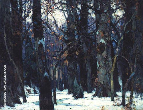 Brooding Silence By John F Carlson