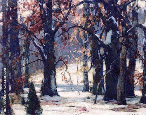 Early Snow By John F Carlson