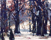 Early Snow By John F Carlson