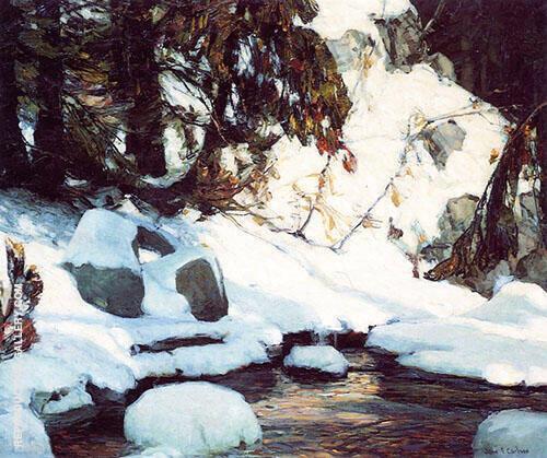 February Gaiety By John F Carlson