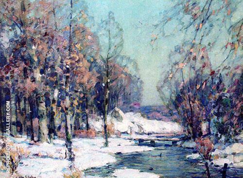 February Sunlight By John F Carlson
