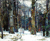 Forest Silence By John F Carlson