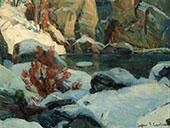 Icy Pool By John F Carlson