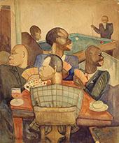 Nous Quatre a Paris c1930 By Palmer Hayden