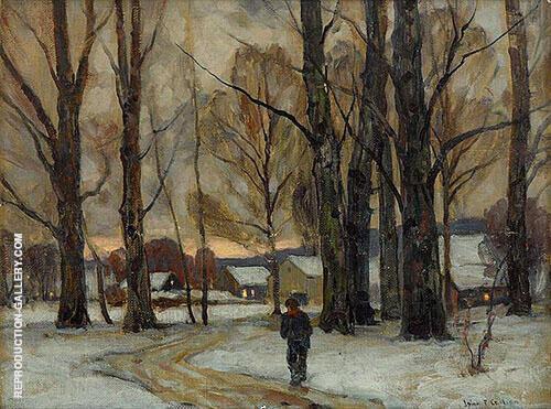Quiet Evening By John F Carlson