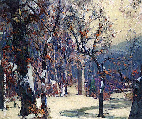 Silent Valleys 1920 By John F Carlson