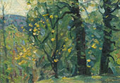 Spring Woods By John F Carlson