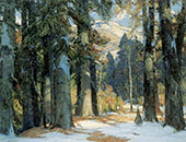 Sunlit Aisles 1922 By John F Carlson