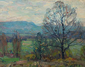 The Valley in Spring By John F Carlson