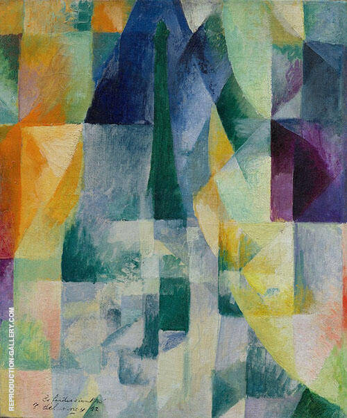 Simultaneous Windows By Robert Delaunay