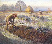 A Frosty March Morning 1904 By Sir George Clausen