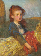 A Gleaner 1901 By Sir George Clausen