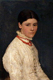 Agnes Mary Webster 1882 By Sir George Clausen