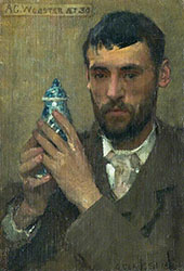A G Webster 1881 By Sir George Clausen