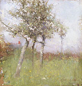 Apple Blossom 1885 By Sir George Clausen
