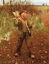 Birdscaring 1887 By Sir George Clausen