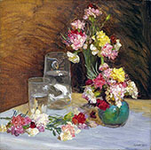 Carnations 1920 By Sir George Clausen