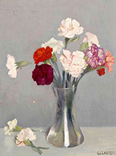 Carnations 1924 By Sir George Clausen