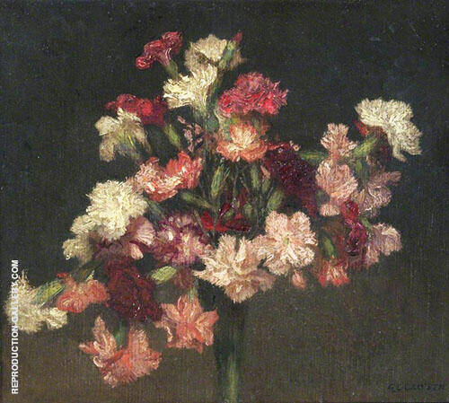 Carnations 1930 By Sir George Clausen