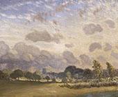 Clavering Church 1909 By Sir George Clausen