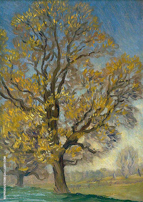 Elm Tree in Spring By Sir George Clausen