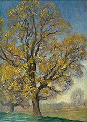 Elm Tree in Spring By Sir George Clausen