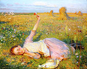 Evening Song By Sir George Clausen