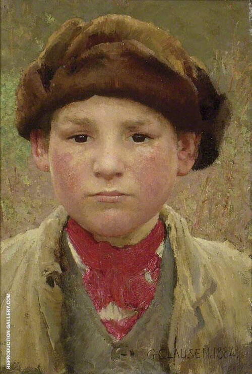 Farmer's Boy 1884 By Sir George Clausen
