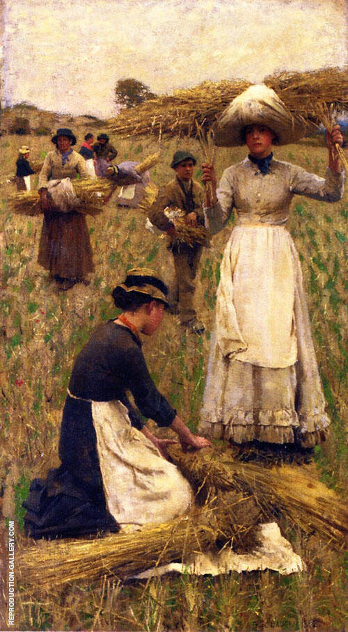 Gleaners 1882 By Sir George Clausen