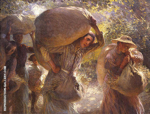 Gleaners Coming Home 1904 By Sir George Clausen