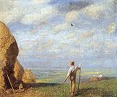 Green Fields By Sir George Clausen