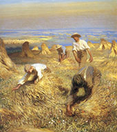 Harvesting The Sheaves 1902 By Sir George Clausen