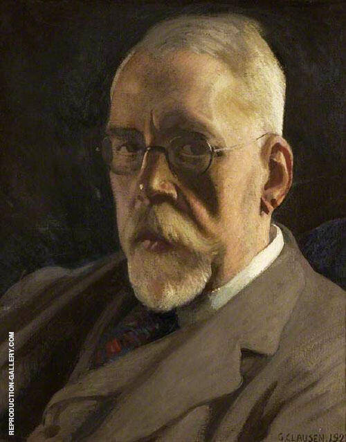 Henry Festing Jones 1923 By Sir George Clausen