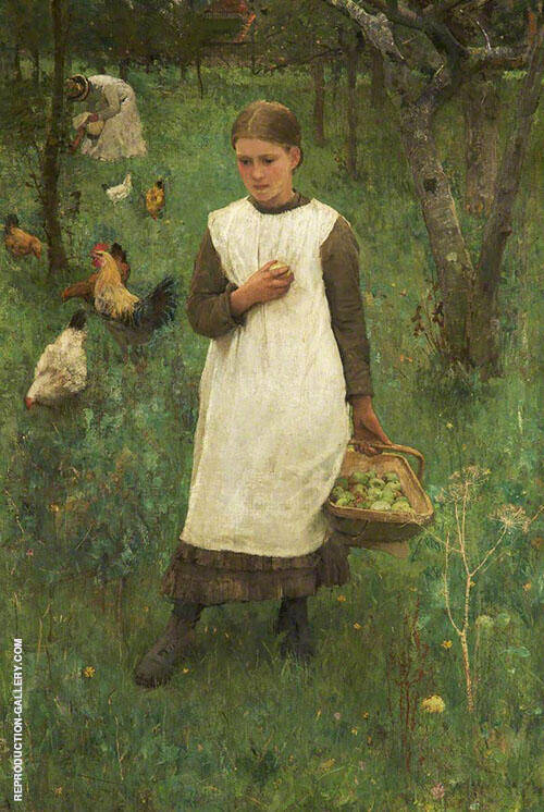 In The Orchard 1881 By George Clausen