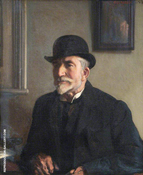 James Osborne 1913 Painting By Sir George Clausen - Reproduction Gallery
