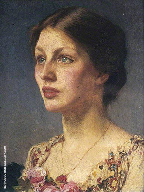 Lady Bestrice 1908 By George Clausen