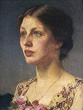 Lady Bestrice 1908 By Sir George Clausen