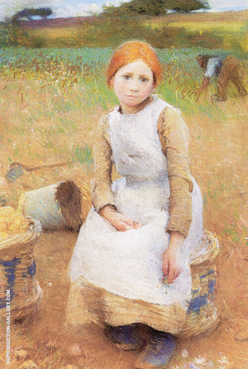 Little Rose 1889 By George Clausen