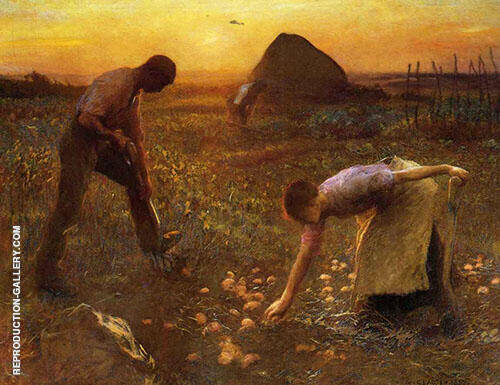 The Allotment Garden By George Clausen