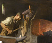 The Blacksmith 1926 By Sir George Clausen