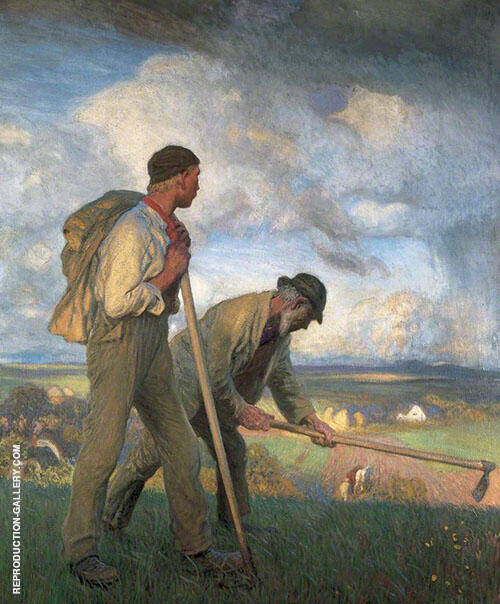 The Boy and The Man 1908 By George Clausen