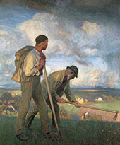 The Boy and The Man 1908 By Sir George Clausen