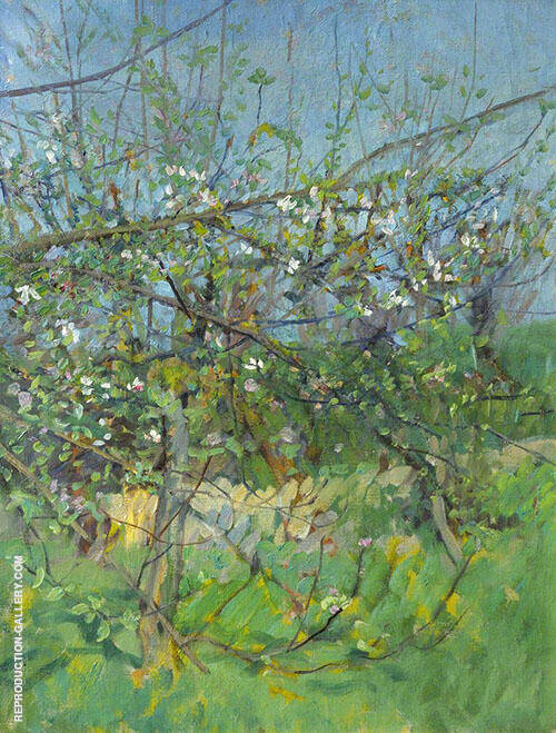 The Cherry Orchard By Sir George Clausen